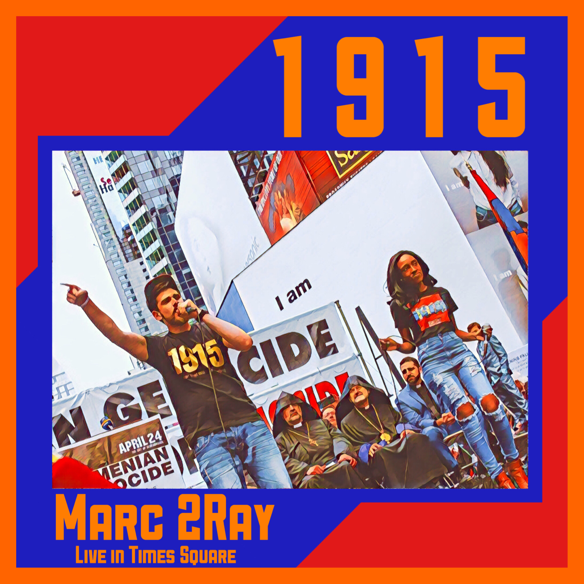 1915 Live In Times Square cover art